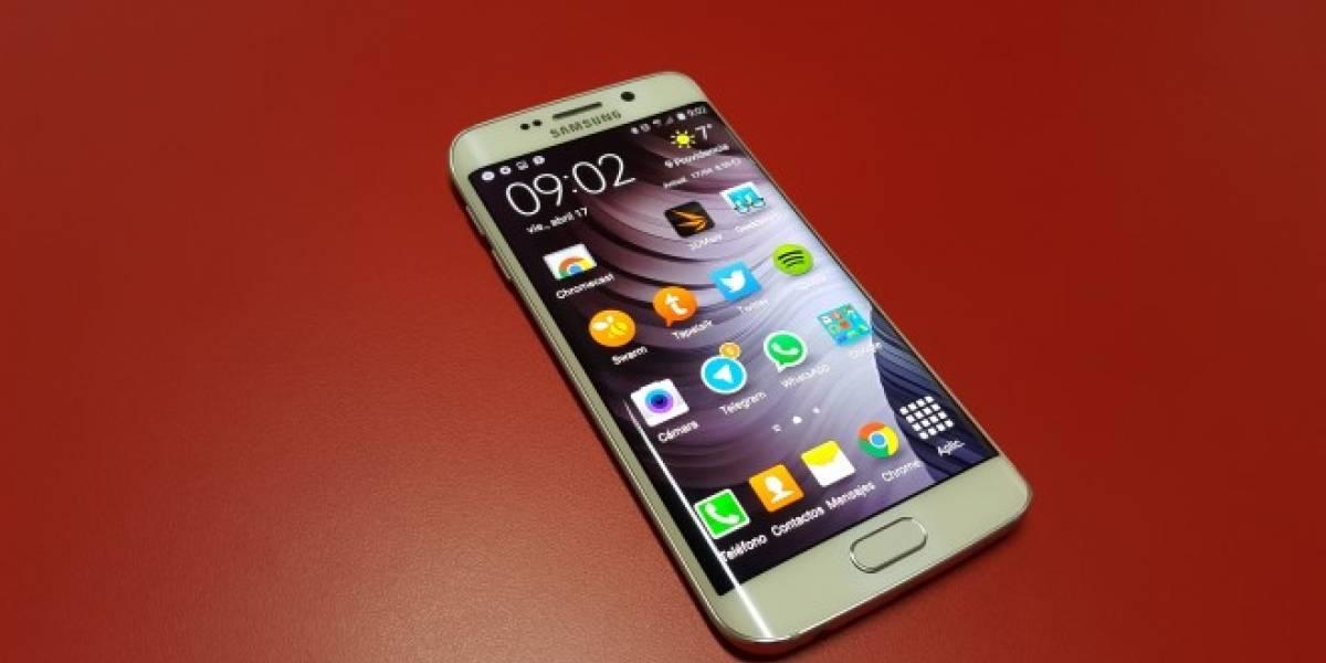 Samsung Galaxy S6 Edge comienza a actualizarse a Android 5.1.1 Lollipop