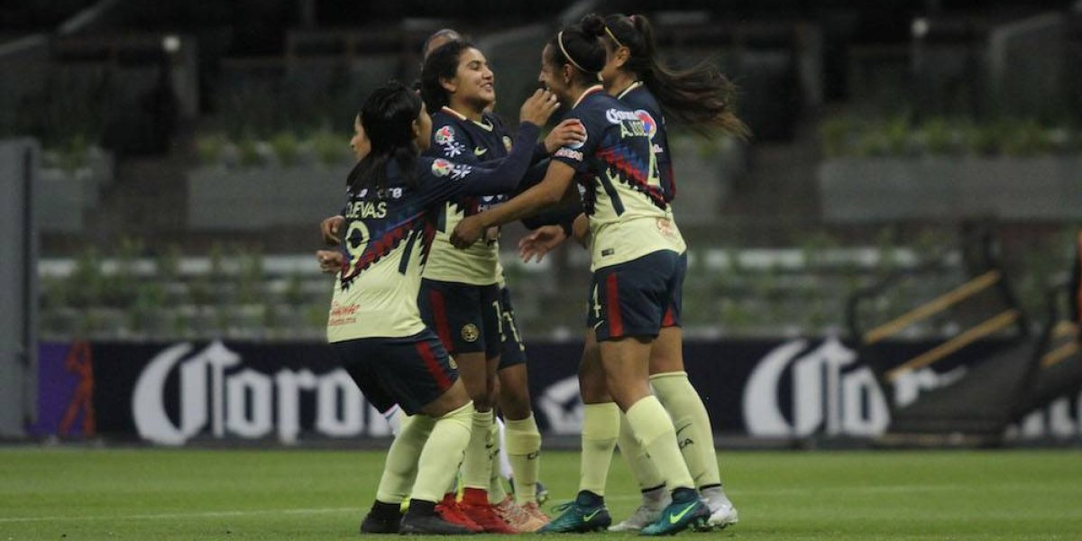 América humilla al Cruz Azul en la Liga MX Femenil