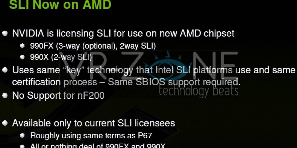 SLI en placas madre AMD muy pronto