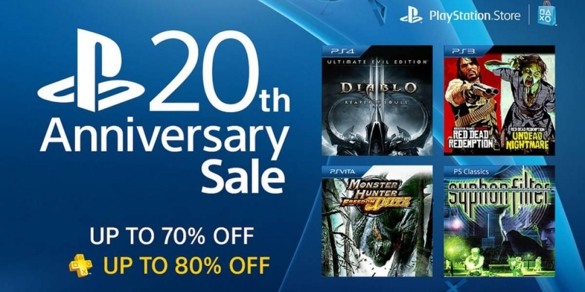 Sony arranca Venta Especial por el 20 Aniversario de PlayStation