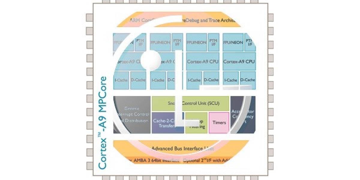 LG licencia tecnologías ARM Cortex A-15 y gráficos Mali para hacerlos ellos mismos