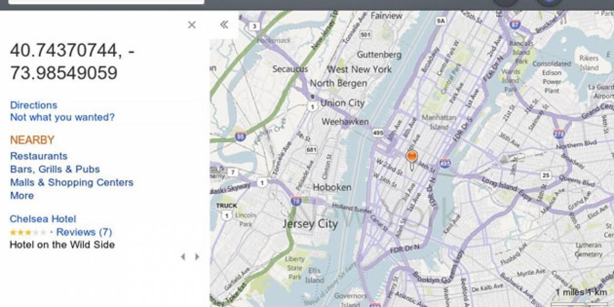 El logo de Nokia aparecerá en todos los mapas de Bing independientemente del terminal