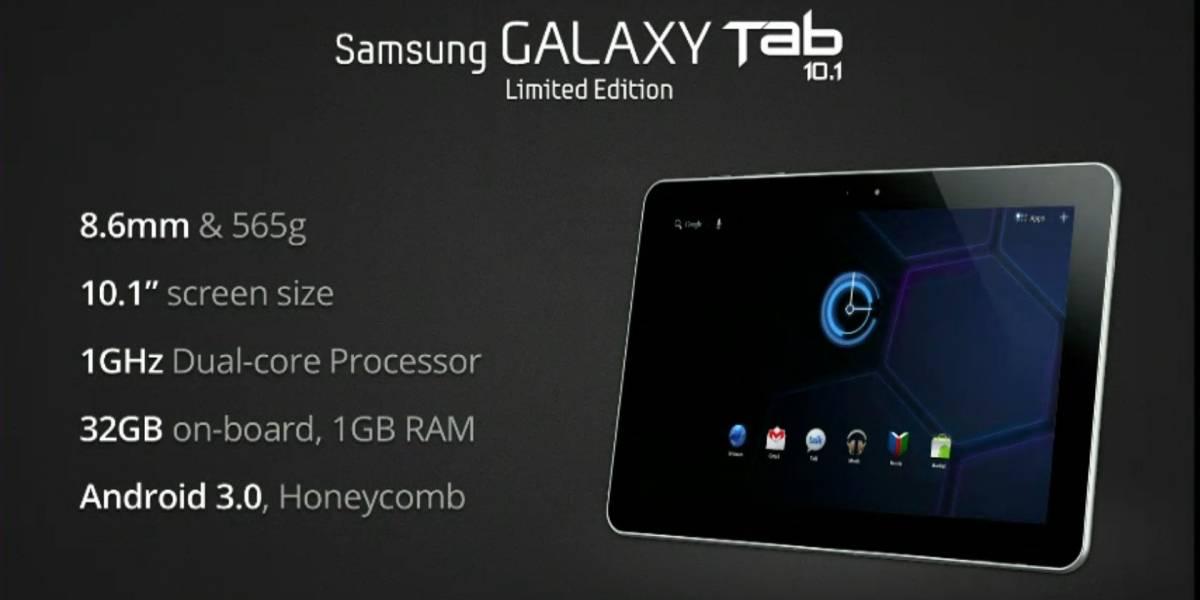 Google regala miles de Galaxy Tab de edición especial en I/O