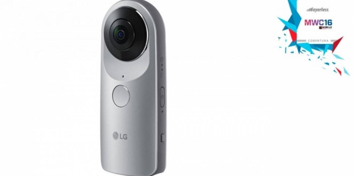 LG 360 CAM te permite tomar fotos y videos en 360 grados #MWC16