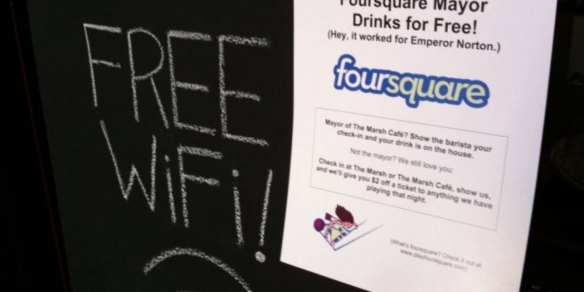 Alcaldías de Foursquare vuelven a Swarm