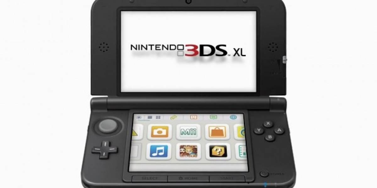 Nintendo detiene la producción de la 3DS XL en Japón