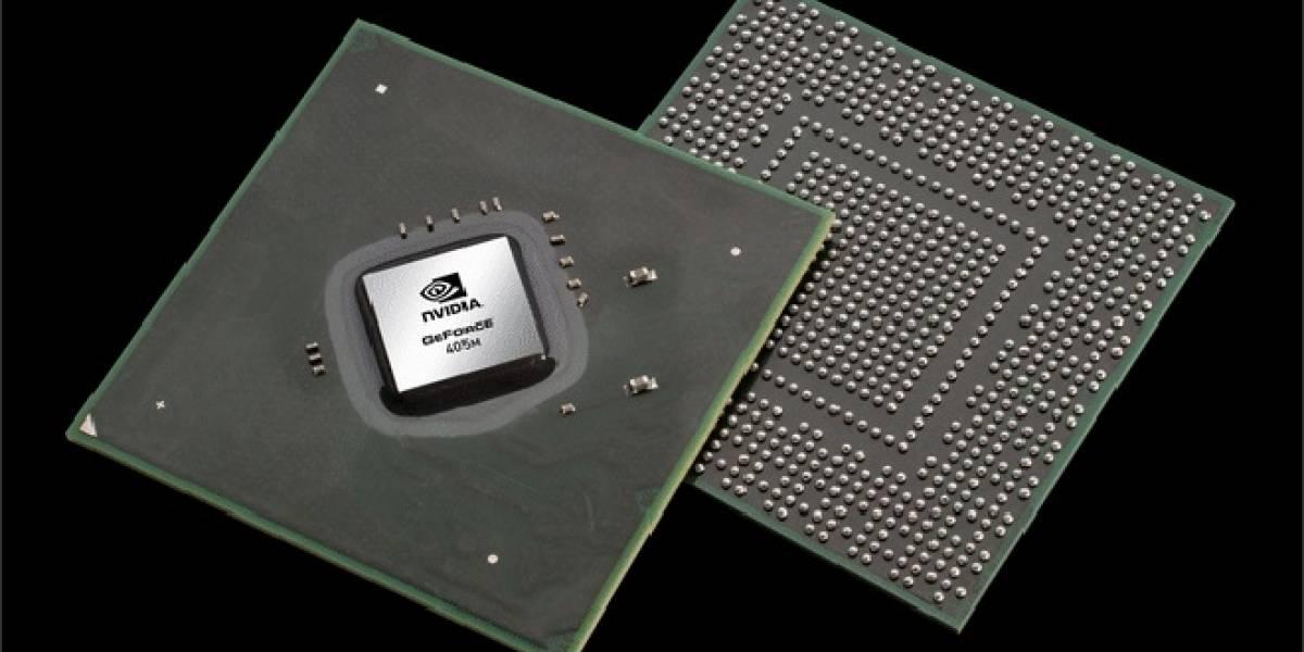 """NVIDIA lanza su """"nuevo"""" GPU Geforce 405M para portátiles"""