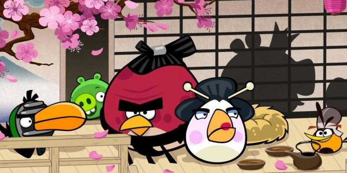 """Rovio lanzará esta semana Angry Birds Seasons """"Cherry Blossom"""""""