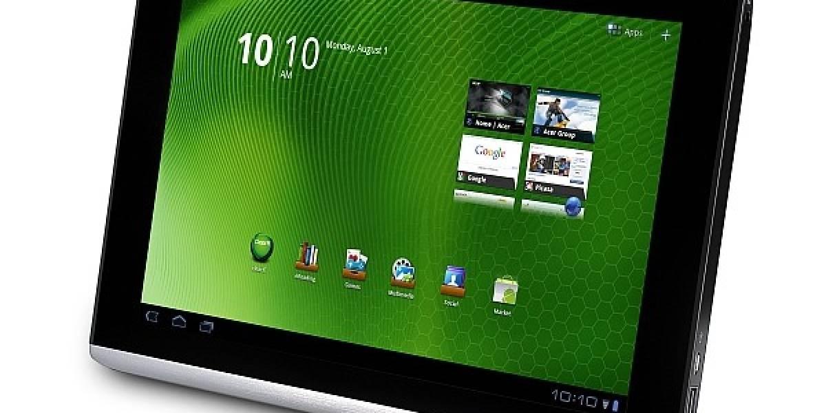 El tablet Acer Iconia Tab A500 a USD 450