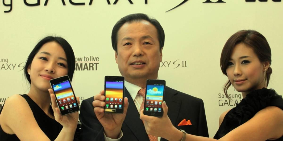 Samsung lanzará Galaxy S III y Galaxy Tab 4G en el primer semestre de 2012