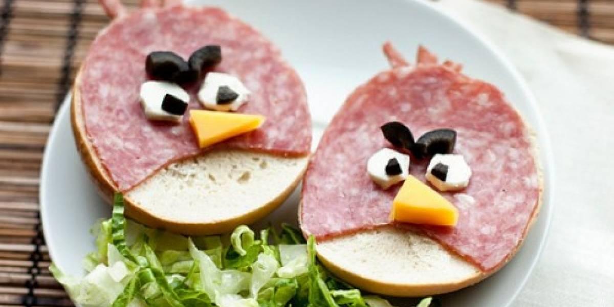 Mmm, un sándwich de... Angry Birds