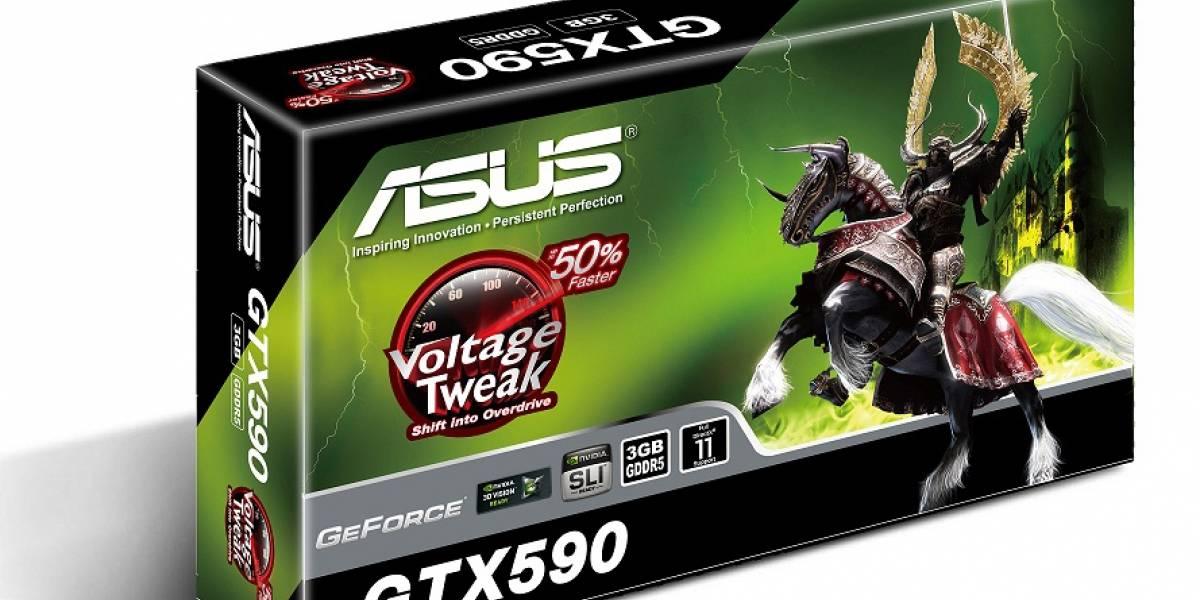 Asus ENGTX590 ya en pre-venta online