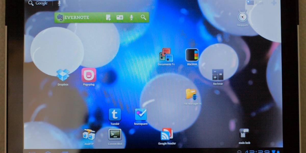 Comenzó la actualización oficial de Ice Cream Sandwich para las tablets Motorola Xoom