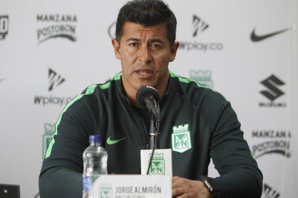 Jorge Almirón no continuaría al frente de Atlético Nacional