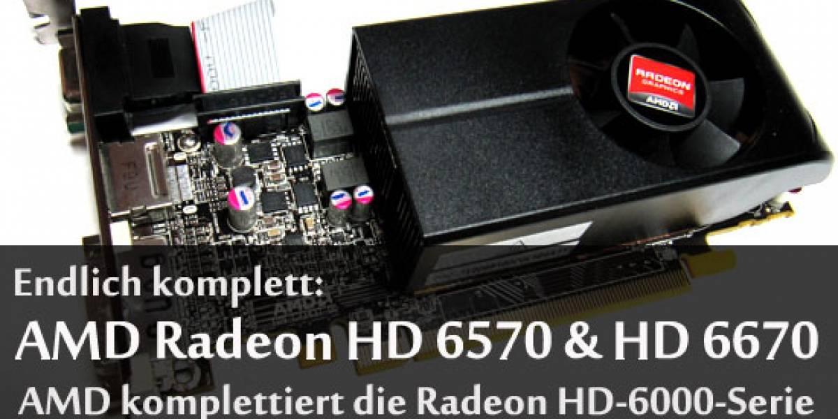 AMD Radeon HD 6570: Primeros reviews