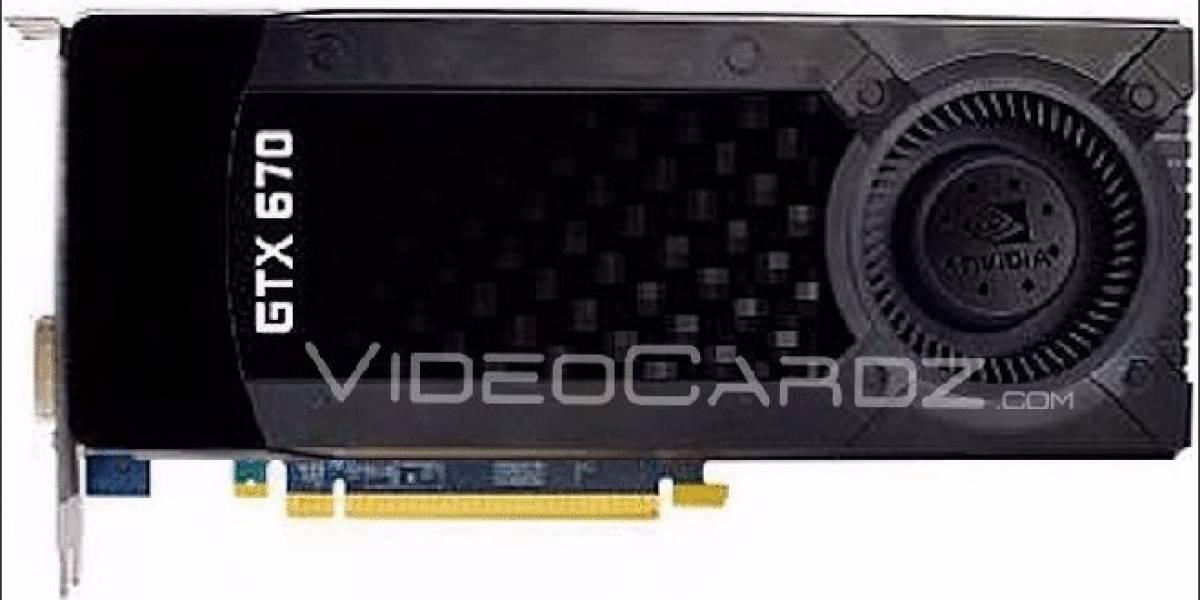 Se filtran imágenes y especificaciones del GPU NVIDIA Geforce GTX 670