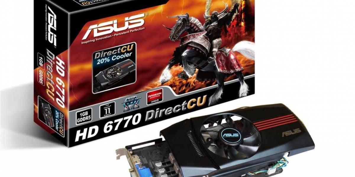 AMD Radeon HD 6750 y 6770 oficialmente lanzadas