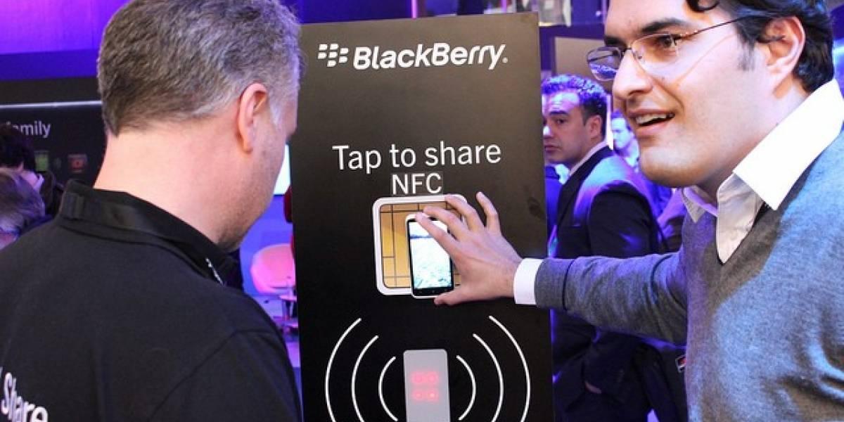 Visa homologa los BlackBerry para pagos mediante NFC en su red
