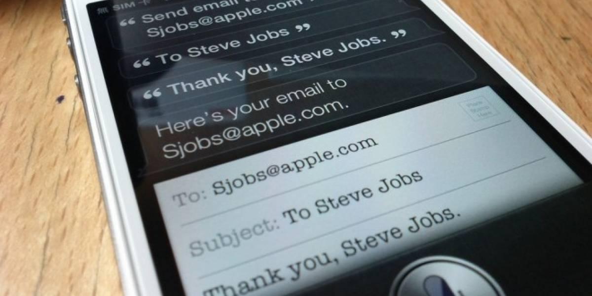 Siri podría transcribir los mensajes de voz y desplegarlos como texto