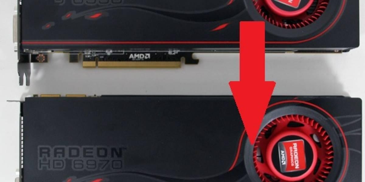 AMD Radeon HD 6950 son desbloqueables a Radeon HD 6970