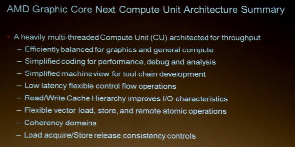 AMD: Arquitectura de los GPUs Radeon HD 7000 Series – Parte 2