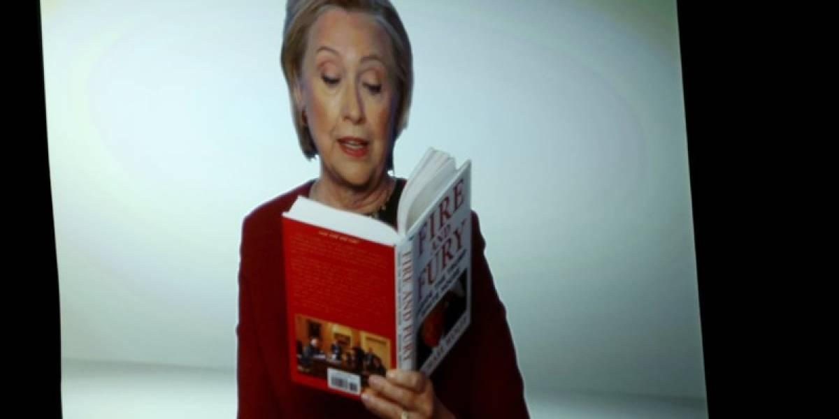 Hillary Clinton se burló de Trump en la gala de los Grammy