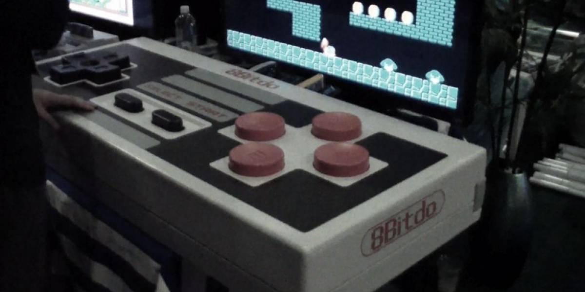 8bitdo crea el control de NES más grande del mundo #E32015
