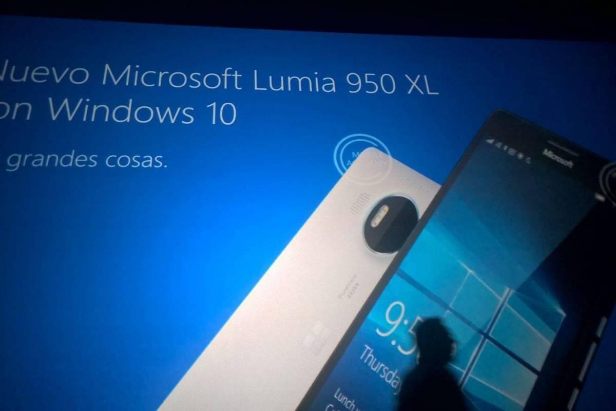 Nuevas imágenes filtradas confirman especificaciones de los Lumia 950 y 950 XL