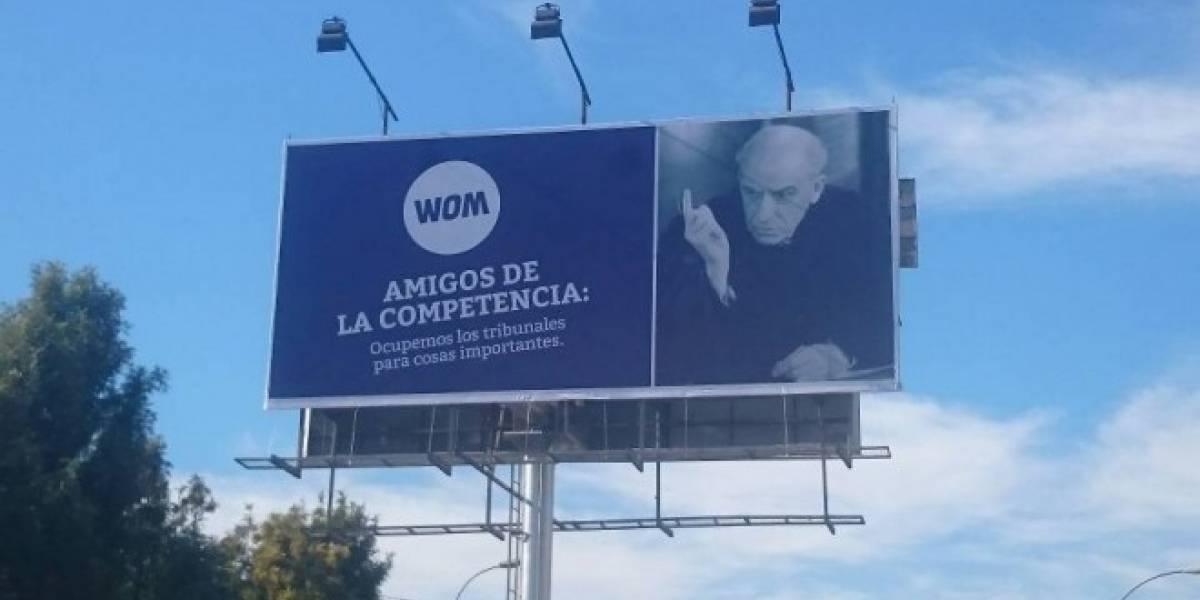Movistar Chile demandó a WOM por $1.000 millones