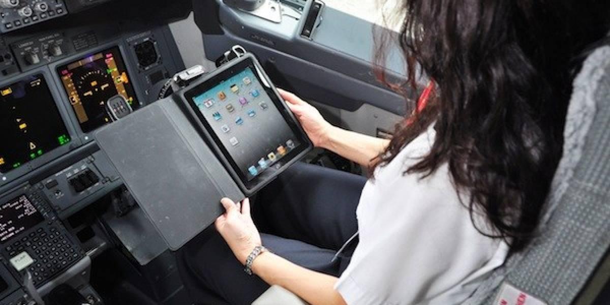 El iPad reemplazará todos los manuales de papel en Aerolíneas Alaska