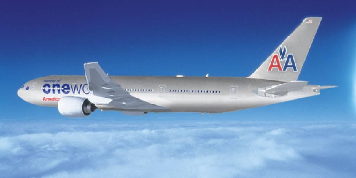American Airlines ofrecerá películas por streaming vía Wi-Fi durante vuelos