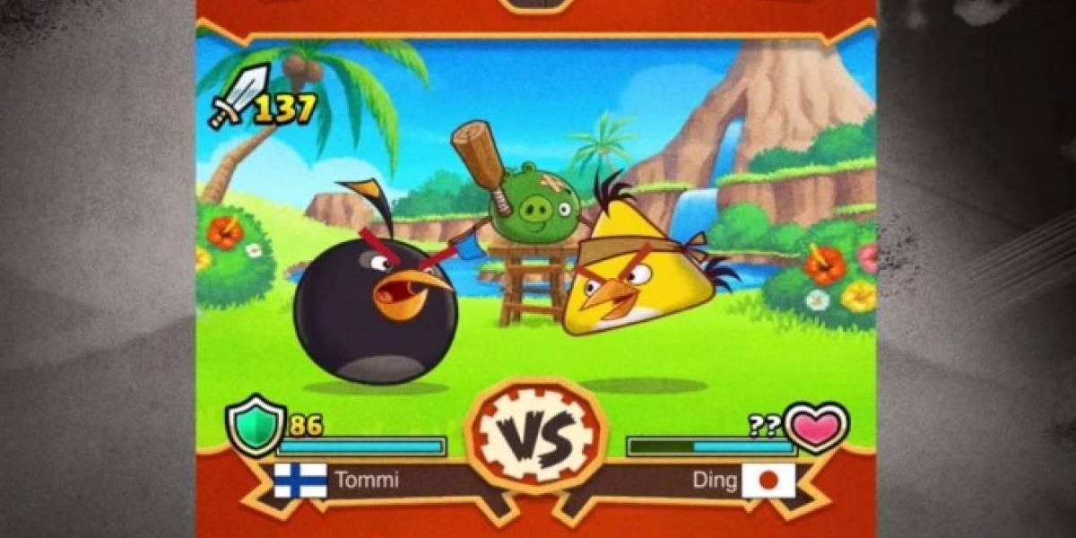Angry Birds Fight es otro nuevo juego de Angry Birds