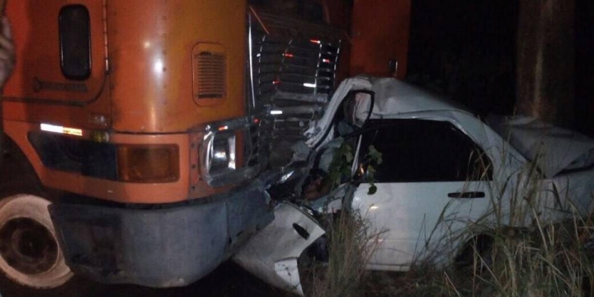 Accidente de tránsito en ruta a Taxisco deja un fallecido