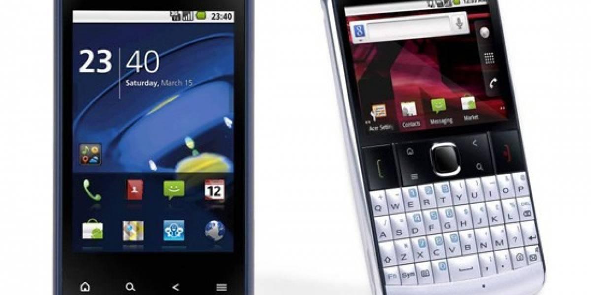 CES 2011: liquidmini y beTouch 210, Acer apuesta por el bajo coste