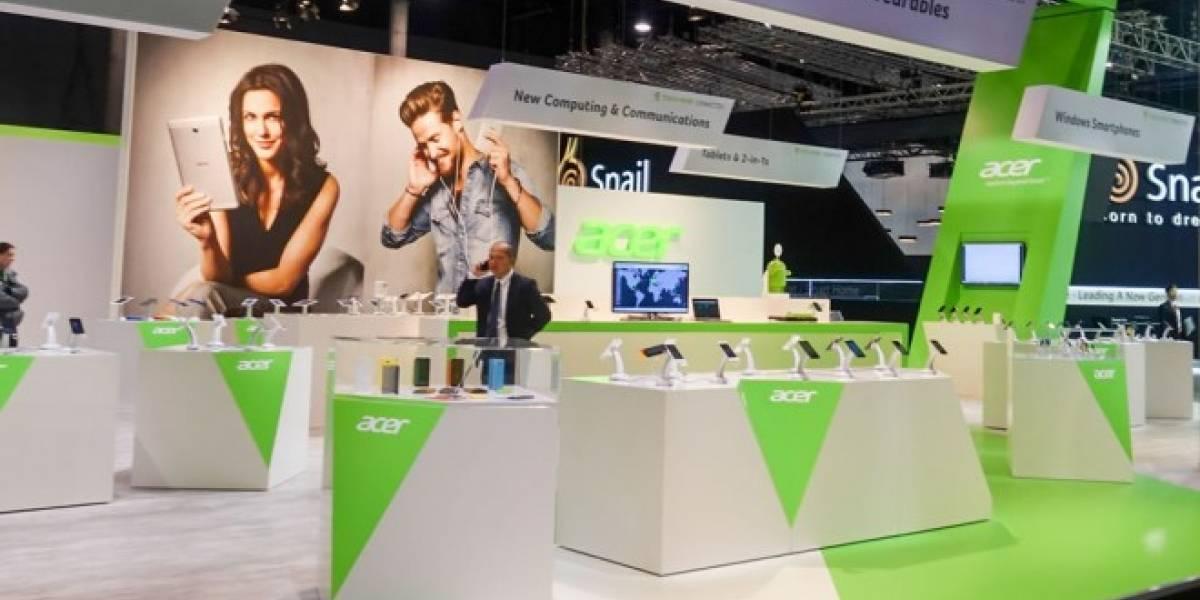 Acer pre-instalará aplicaciones de Microsoft en sus teléfonos Android