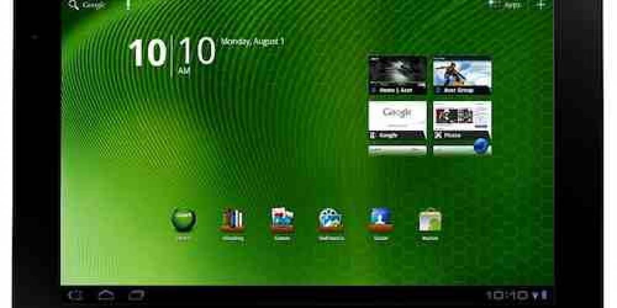 A primera vista: Acer Iconia A500