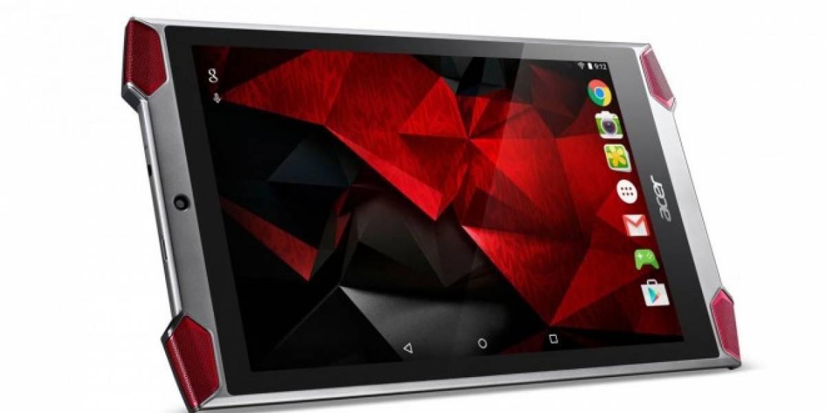 Acer le pone precio y fecha de salida a su tablet Predator 8