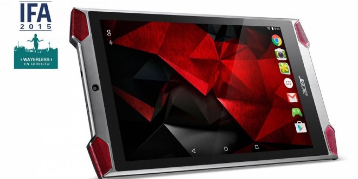 Acer Predator 6 es el smartphone de 10 núcleos enfocado a los gamers #IFA15