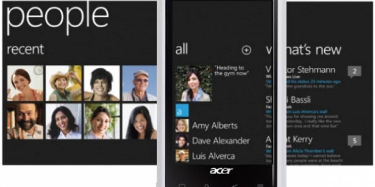 Futurología: Acer también lanzará móviles con Windows Phone 7