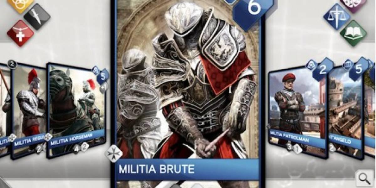 Juego de estrategia política de Assassin's Creed llega a iOS