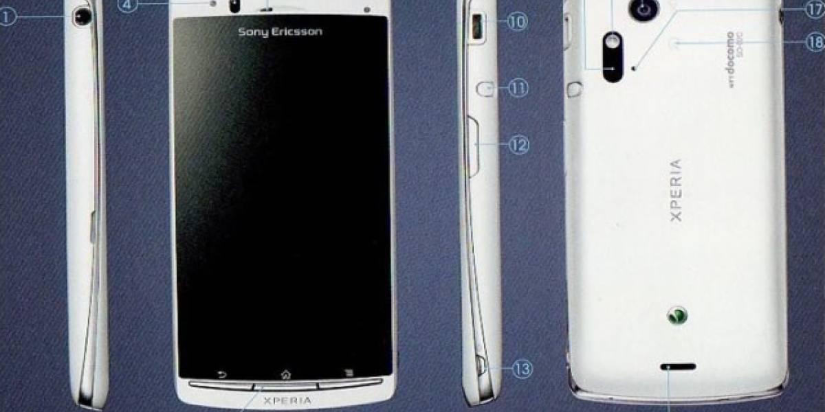 Sony Ericsson lanza Acro, un smartphone para el mercado japonés
