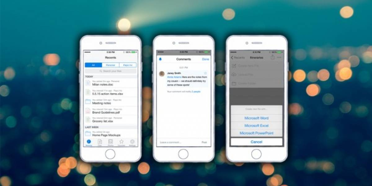 Dropbox para iOS se actualiza