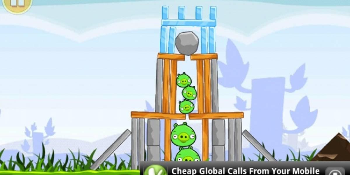 Angry Birds para Android ha sido descargado 30 millones de veces
