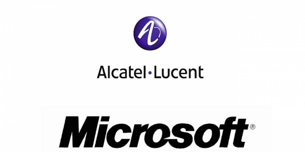 Alcatel-Lucent y Microsoft llegan a acuerdo tras larga batalla de patentes