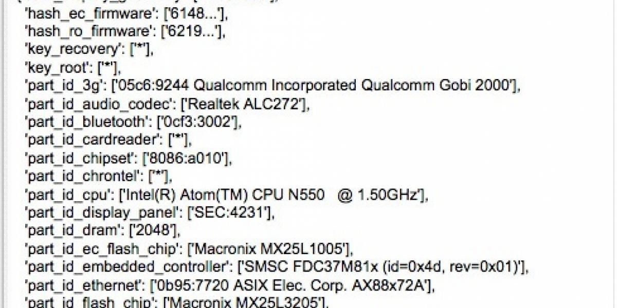 Se filtran detalles de netbooks Samsung y Acer con Chrome OS
