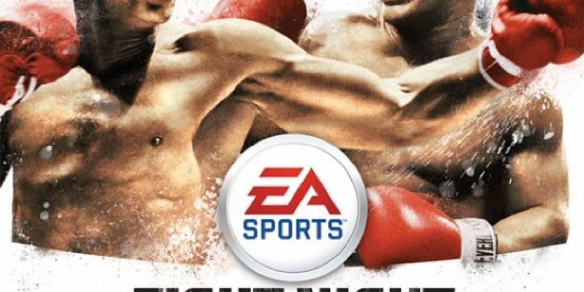 Muhammad Ali y Mike Tyson en la portada de Fight Night Round 4
