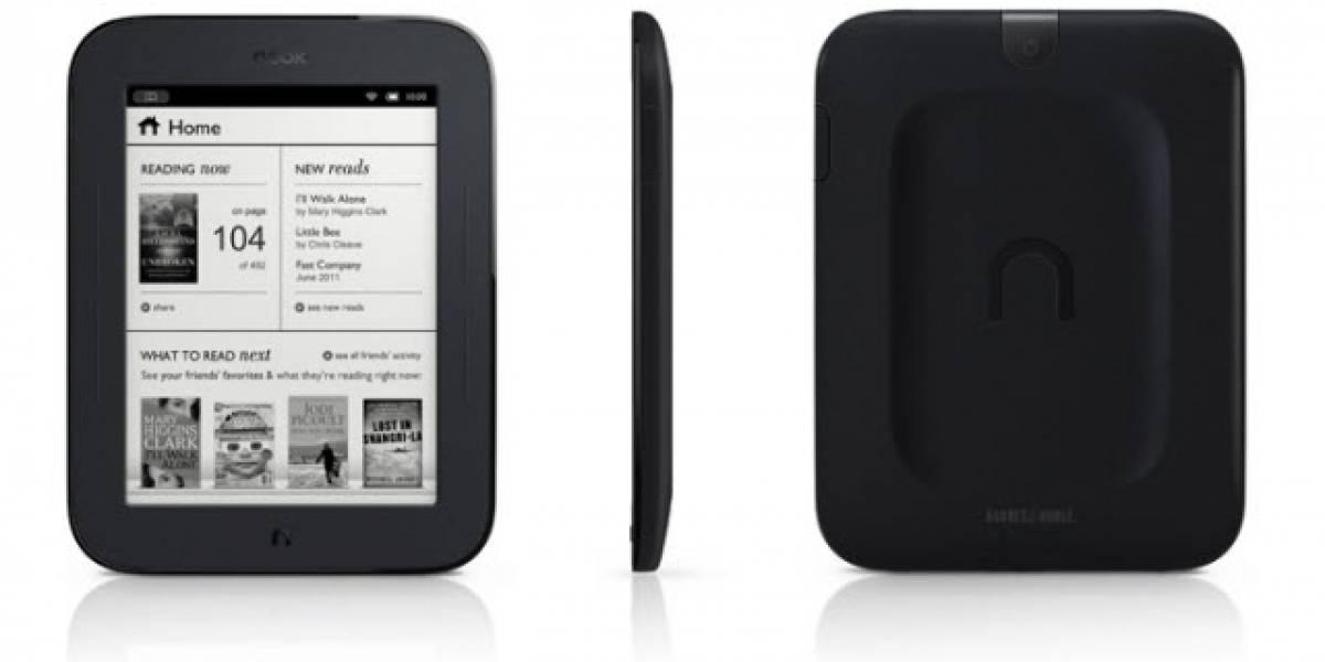 Barnes & Noble dice que la batería de su nuevo Nook es mejor que la del Kindle 3