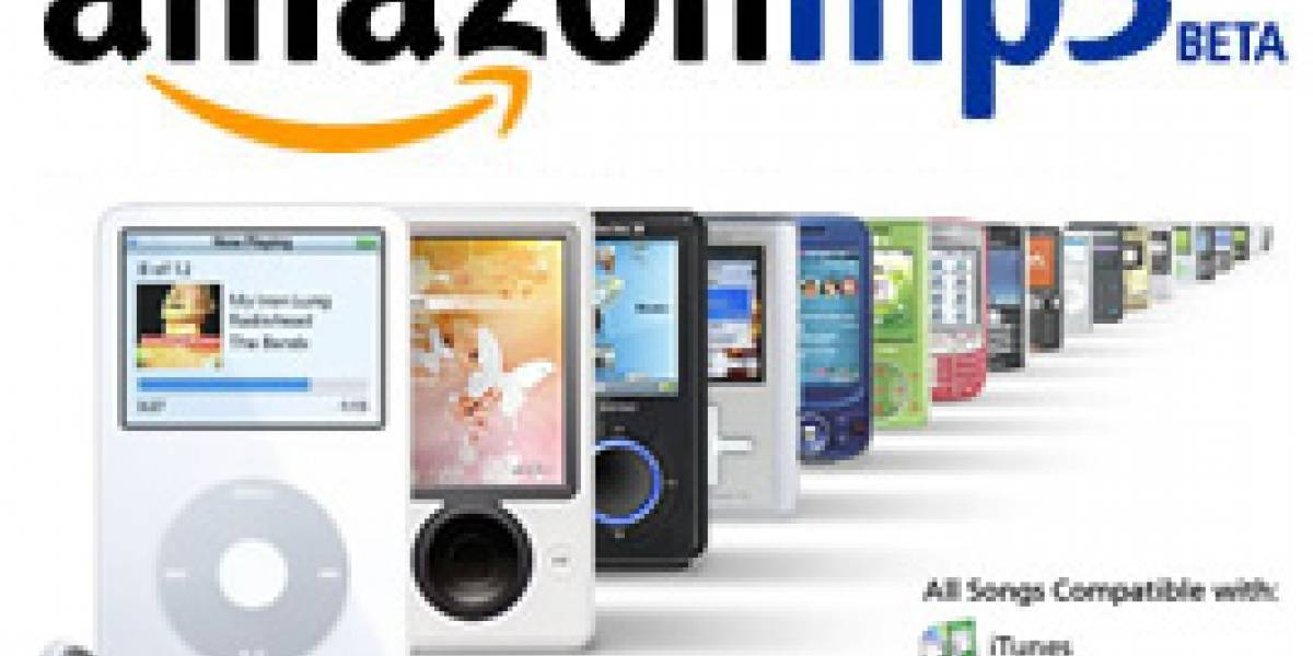 Comienza beta público de Amazon MP3