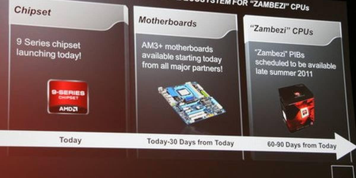 CTX2011: AMD FX (Zambezi) oficialmente retrasado