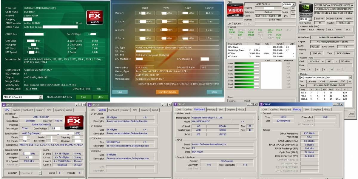AMD FX-8130P llega a los 4.63GHz en aire